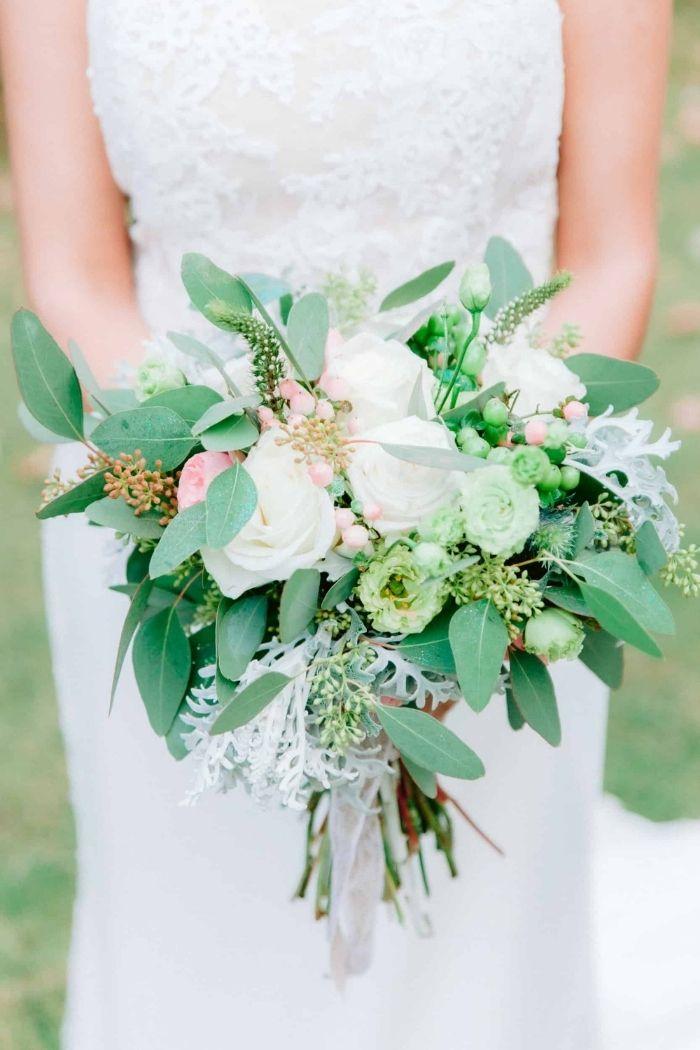 bouquet de noiva em tons brancos nelson silva fotografia
