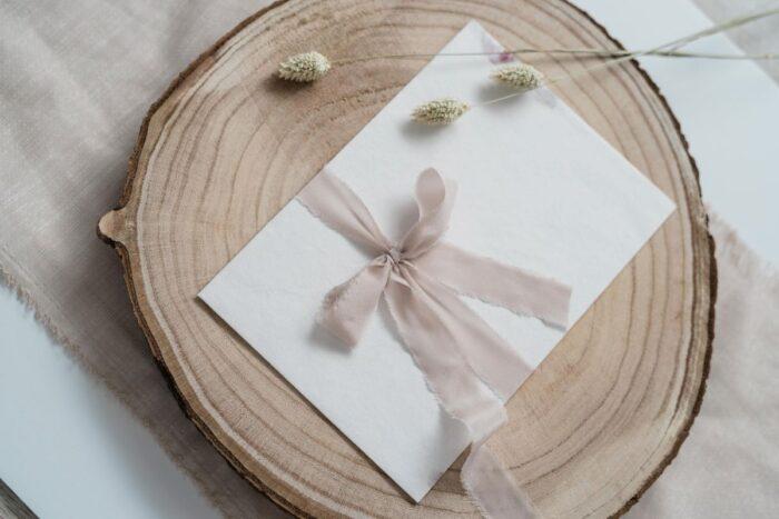 convite de casamento ecológico sukses design