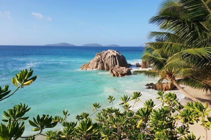 Seychelles vista mar