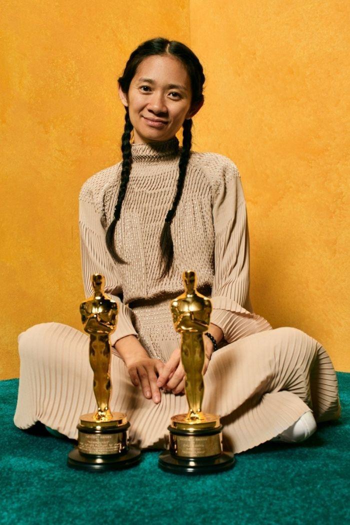 Chloé Zhao Oscares 2021