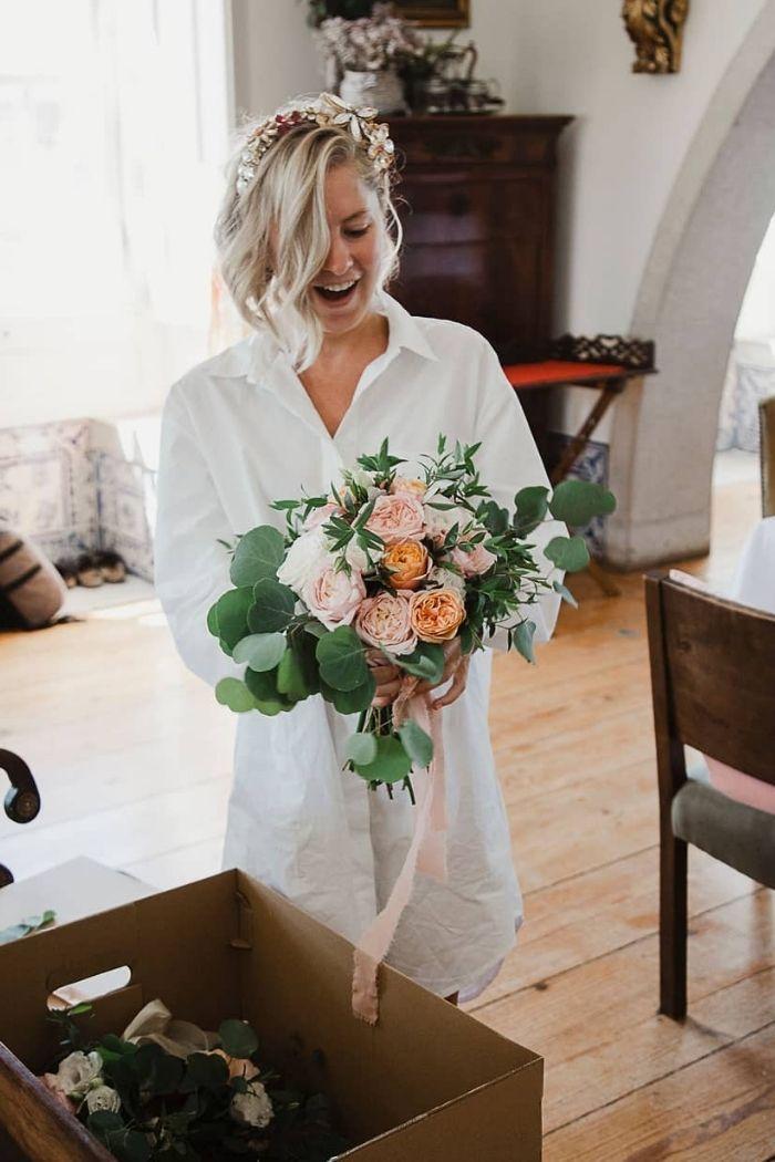 bouquet de noiva florista o desejo