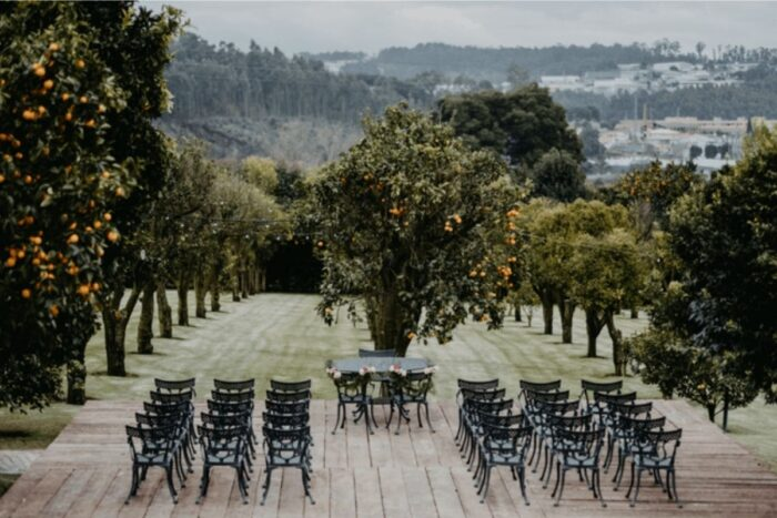 cerimónia casamento laranjal