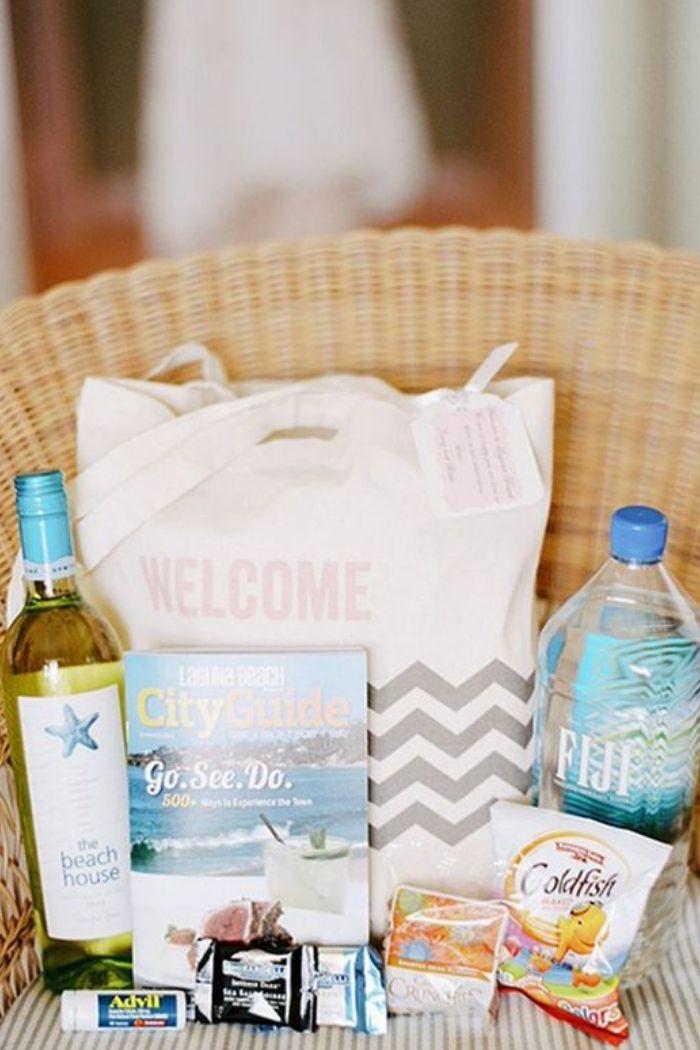 welcome bag wedding