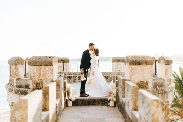 Featured* A magnitude de um casamento no Forte da Cruz
