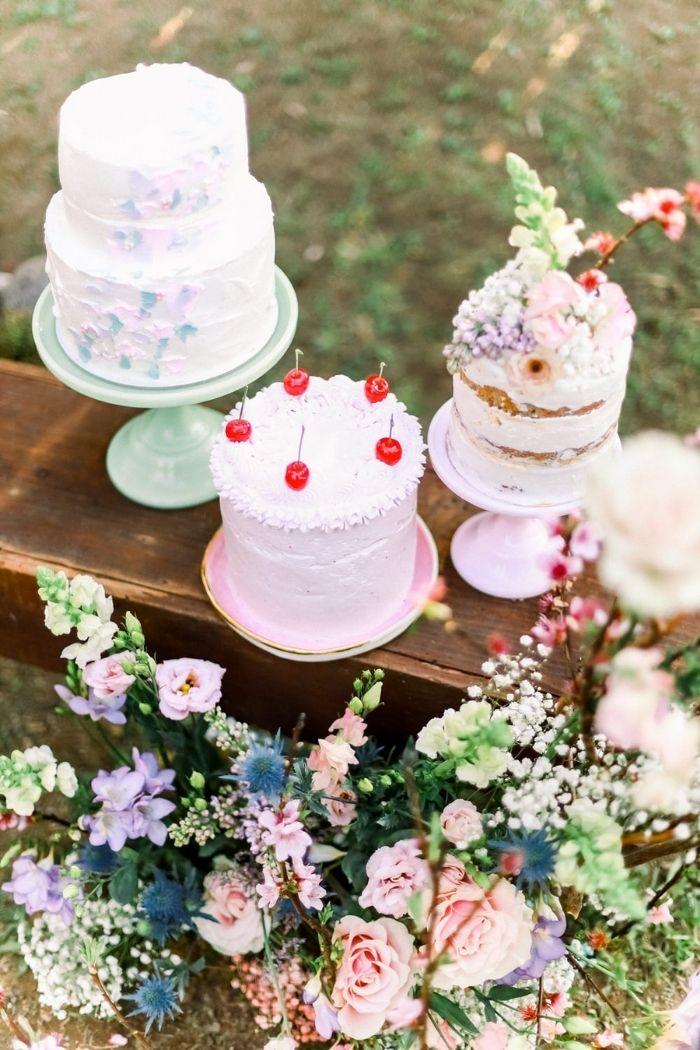 bolo bakewell fotografia Aura Studiobolos de casamento pequenos