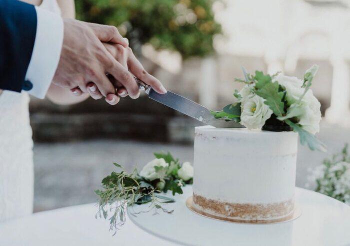 bolo de casamento bakewel