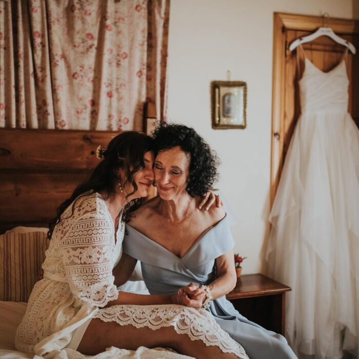 dia da mãe mãe e noiva preparativos Foto hugo coelho