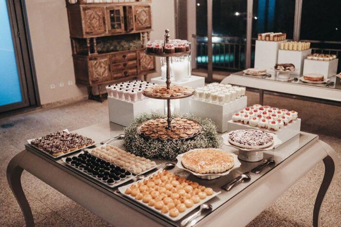 buffet de doces casamento