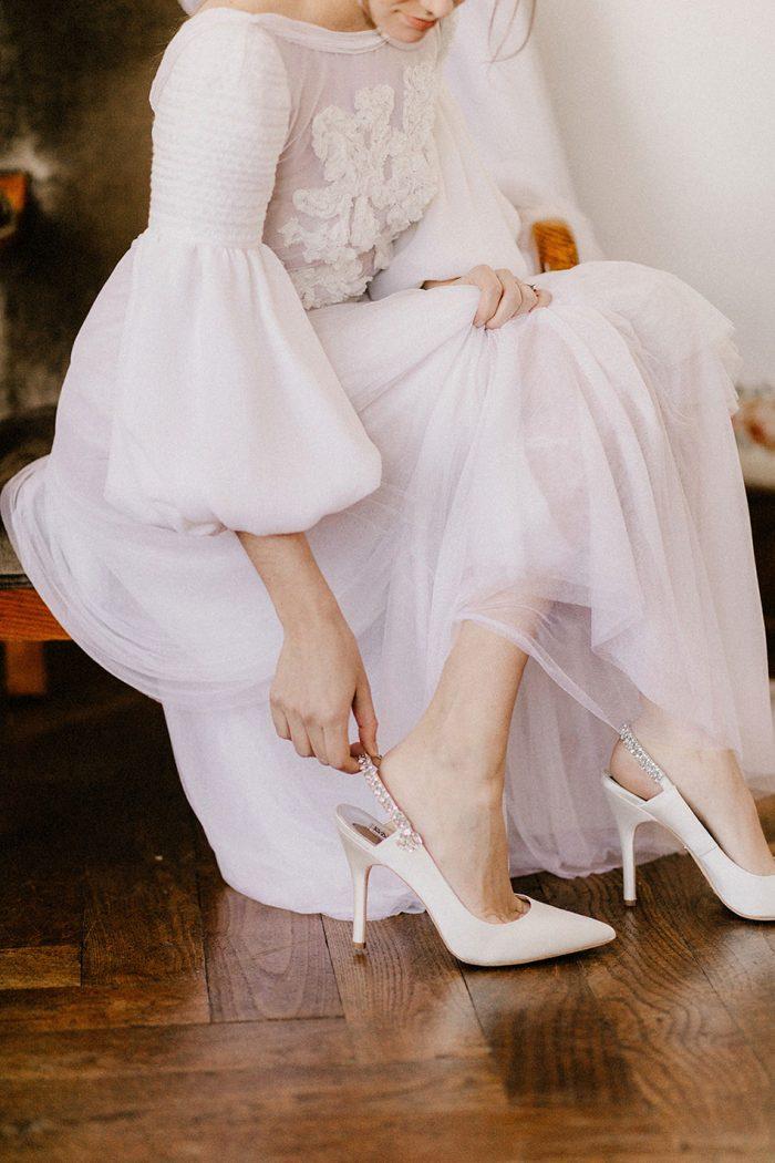 Sapatos de noiva Anna Walker